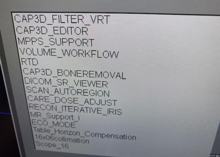 Siemens CT Scope 16