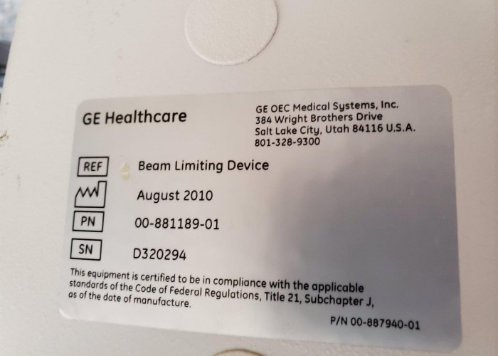 GE OEC 9900 Elite